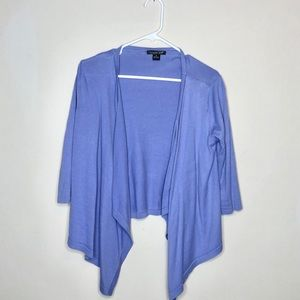 Purple Cascade Sweater M